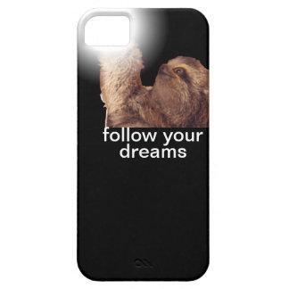 Follow your dreams - sloth iPhone SE/5/5s case