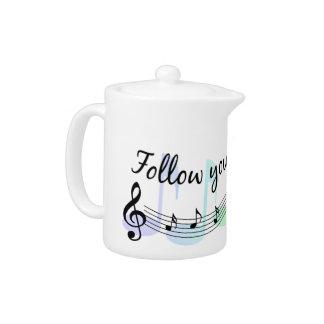 Follow Your Dreams Teapot