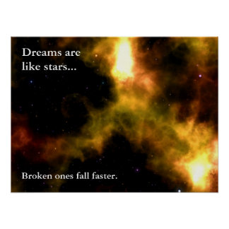 Follow your dreams to the stars (L) Poster