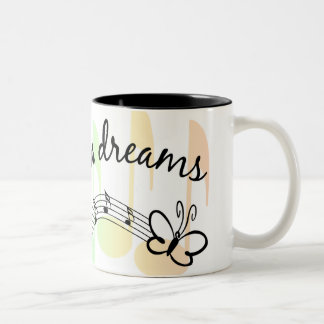 Follow Your Dreams Two-Tone Coffee Mug