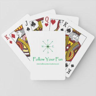 Follow Your Fun PLAYING CARDS