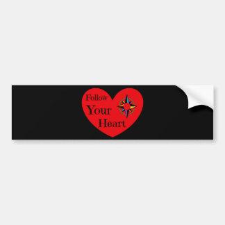 Follow Your Heart 2016 Bumper Sticker