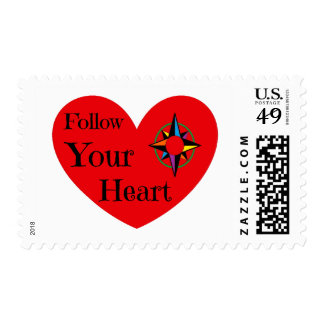 Follow Your Heart 2016 Postage