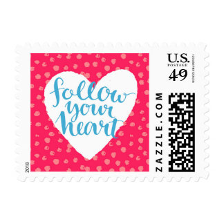 Follow Your Heart 3 Postage