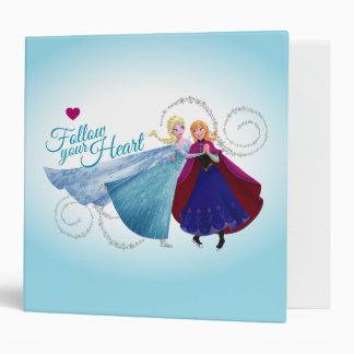 Follow Your Heart 3 Ring Binder