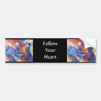 Follow Your Heart Bumper Sticker Car Bumper Sticker
