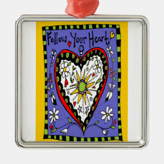 Follow Your Heart Christmas Ornament
