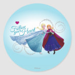 Follow Your Heart Classic Round Sticker