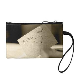 follow your heart coin purse