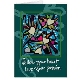 follow your heart copy card