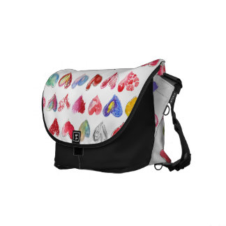 Follow Your Heart Custom Rickshaw Messenger Bag