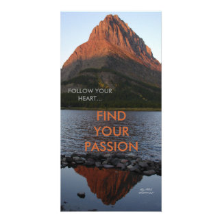 FOLLOW YOUR HEART,FIND YOUR PASSION CARD