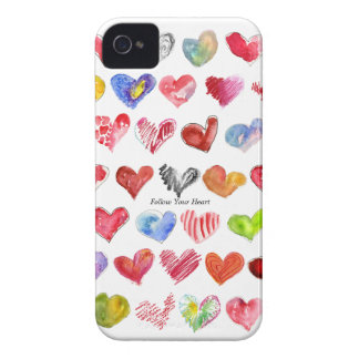 Follow Your Heart iphone 4 ID Credit Card Case