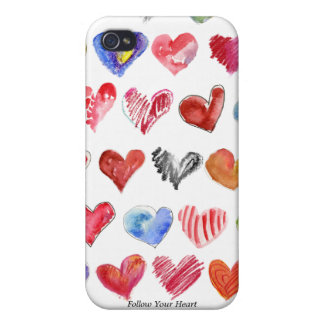 Follow Your Heart iphone 4 Speck Case
