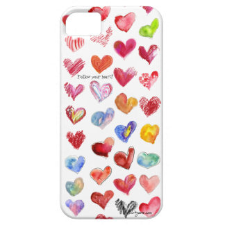 Follow Your Heart iphone 5 Universal iPhone SE/5/5s Case