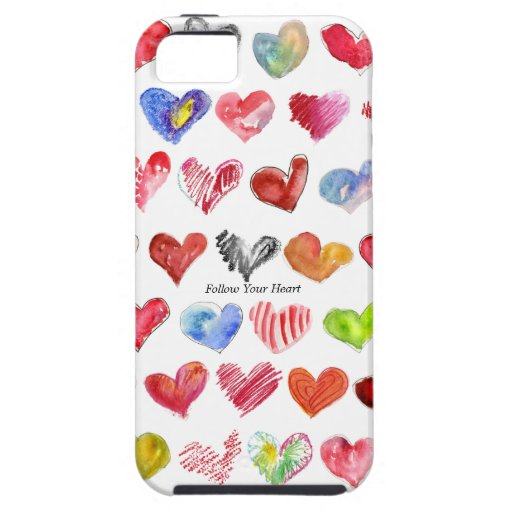 Follow Your Heart iphone 5G/GS Tough Casemate Case iPhone 5 Covers