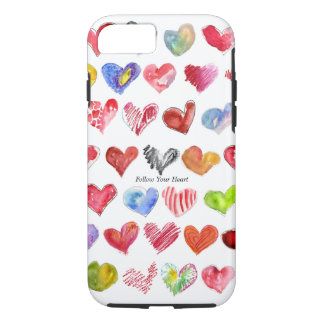 Follow Your Heart iphone 7 Case