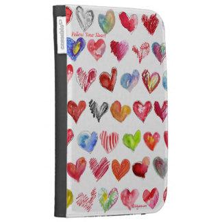 Follow Your Heart Kindle Folio Case