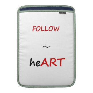 Follow Your heART Mac Sleeve Sleeves For MacBook Air