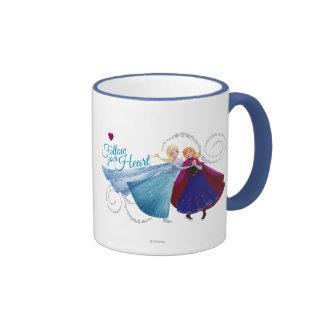 Follow Your Heart Coffee Mugs
