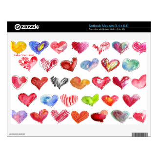 Follow Your Heart on all Netbook Skins