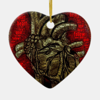 Follow Your Heart Ornaments