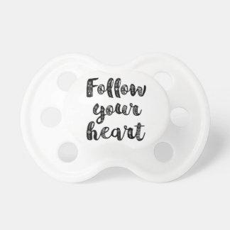 Follow Your Heart Pacifier