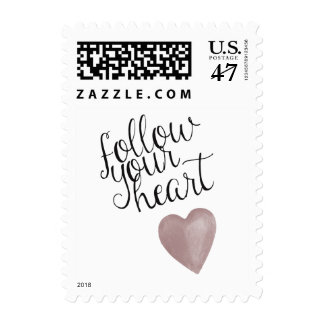 Follow Your Heart Postage