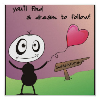 Follow Your Heart! Poster
