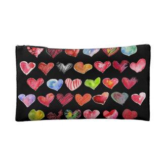 Follow Your Heart Sml Cosmetic Custom Zipper Bag Makeup Bag