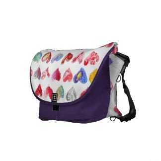 Follow Your Heart Violet Messenger Bag