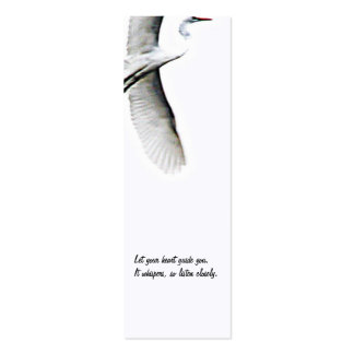 Follow Your Heart/Zen Tao Photography Double-Sided Mini Business Cards (Pack Of 20)
