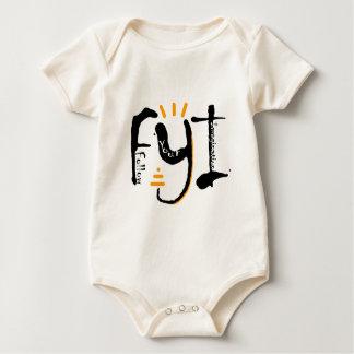 Follow Your Imagination Baby Bodysuit