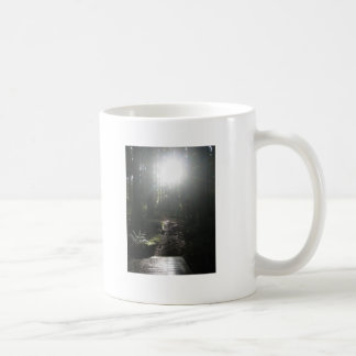 Follow your inner path. classic white coffee mug