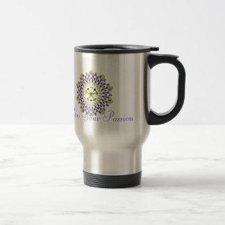 Follow Your Passion - Passion Flower Travel Mug