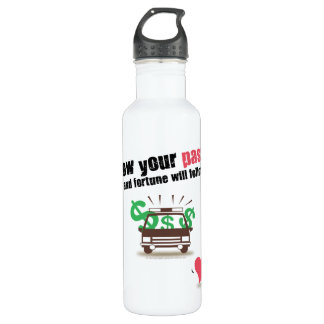 Follow Your Passion Water Bottle