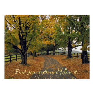 Follow your path by tdgallery poster