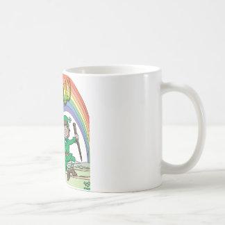 Follow your rainbow coffee mug