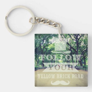 Follow Your Yellow Brick Road Acrylic Keychains