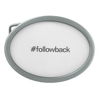 followback belt buckles