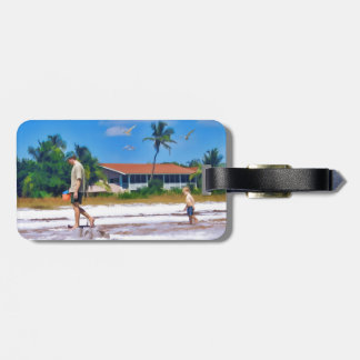 Following In His Father's Steps Bag Tag