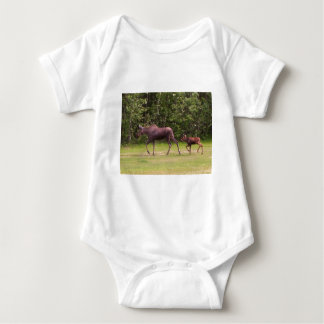 Following in Moms Footprints Baby Bodysuit