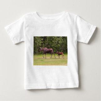 Following in Moms Footprints Baby T-Shirt