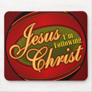 Following Jesus Mouse Pads