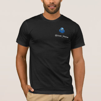 Following me now, so follow me on Twitter T-Shirt