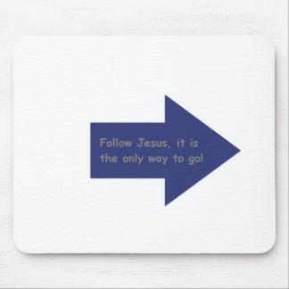 followJesus Mouse Pads