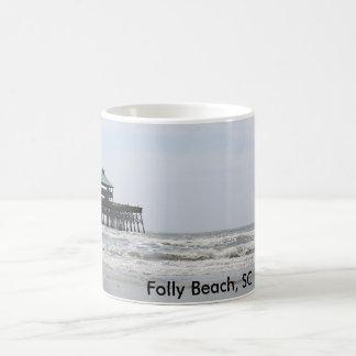 Folly Beach 11 oz Classic White Mug