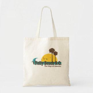 Folly Beach Canvas Bag