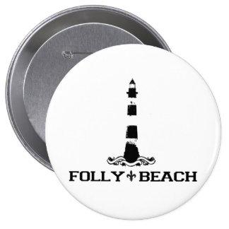 Folly Beach. Button