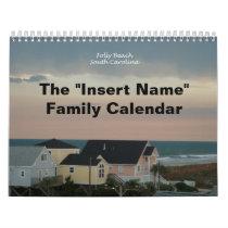 Folly Beach Calendar